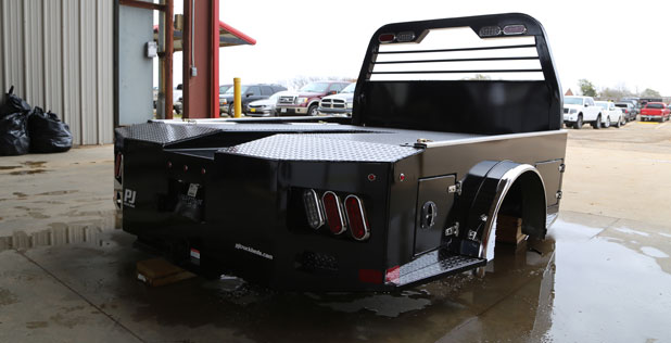 Western Hauler Steel Truck Bed Photo