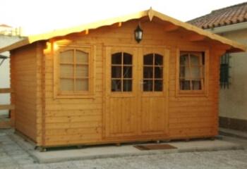 Log Cabin, Log Cabin, Storage Structure ...