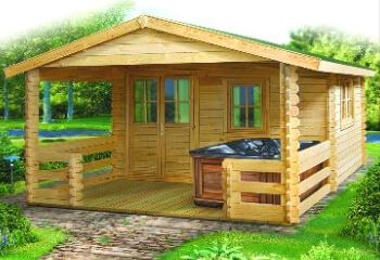 Etonnant Log Cabin, Log Cabin, Storage Structure ...